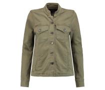 Stretch-cotton Jacket Armeegrün