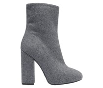 Wool And Silk-blend Felt Ankle Boots
