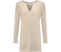 Exponia Wool And Cashmere-blend Sweater Beige