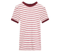 Striped Stretch-jersey T-shirt