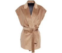Bead-embellished Cotton And Cashmere-blend Corduroy Vest