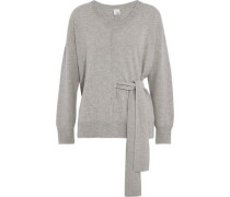 Maddie belted cashmere sweater