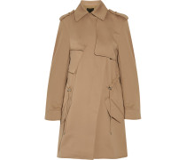 Tech-jersey Trench Coat Sand