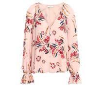 Boyana Floral-print Silk Crepe De Chine Blouse