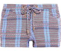 Shelly stretch-jersey shorts