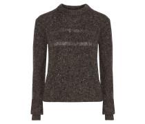 Durand Merino Wool-blend Bouclé Sweater Schiefer
