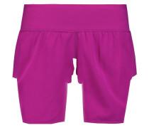 Annabelle Stretch-jersey Shorts Magenta