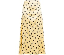 Gerafftes Minikleid aus Crêpe mit Pailletten und Asymmetrischer Schulterpartie