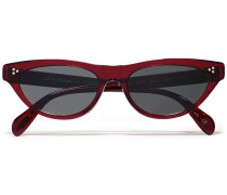 Zasia Cat-eye Acetate Sunglasses