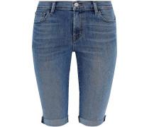 811 Faded Denim Shorts