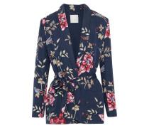 Anasophia Floral-print Silk Kimono