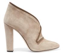 Estelle Suede Ankle Boot Champignon