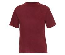 T-shirt aus Jersey aus Einer Baumwoll-kaschmirmischung