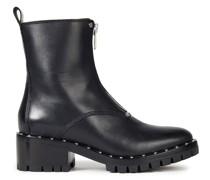 Hayett Studded Leather Combat Boots