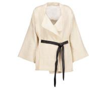 Ambar frayed cotton-blend jacket