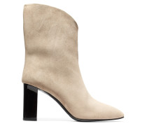 Ava Suede Boots Beige