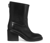 Evel Leather Boots Schwarz