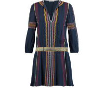 Jolene embroidered voile mini dress