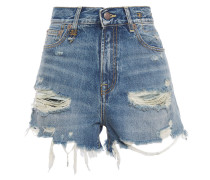 Carlton Distressed Denim Shorts
