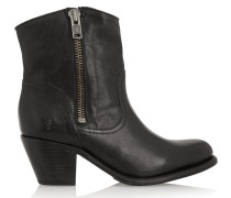 Leslie Leather Boots Black