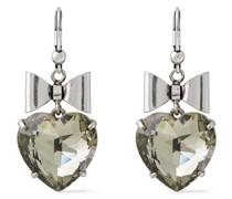 -tone Crystal Earrings