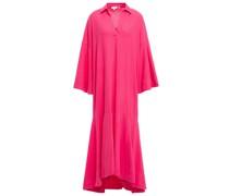 Gia Cotton Midi Shirt Dress