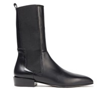 Dree Tall Leather Ankle Boots