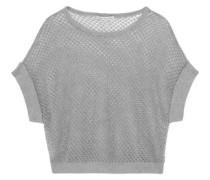 Open-knit cotton top