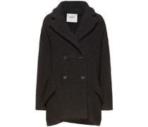 Gillie Double-breasted Wool-bouclé Coat