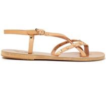 Semele Sandalen aus Leder mit Nieten