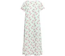 Adette Floral-jacquard Midi Dress