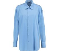 Clara stretch cotton-blend shirt
