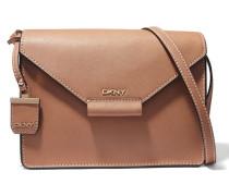 Leather Shoulder Bag Braun