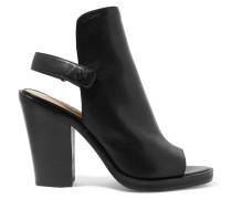 Whalen Leather Sandals Schwarz
