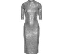 Delora Midikleid aus Jersey mit Metallic-effekt