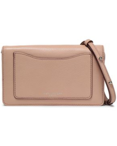 Leather Continental Wallet Blush Size --