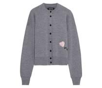 May Sequin-embellished Merino Wool Cardigan