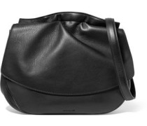 Ridge textured-leather shoulder bag