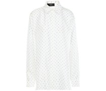 Polka-dot Silk-twill Shirt