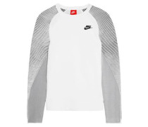 Tech Fleece cotton-blend jersey and stretch-knit sweatshirt