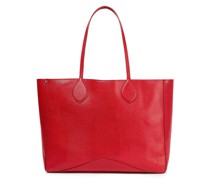 Pippa Tote Bag aus Leder mit Eidechseneffekt und Nieten