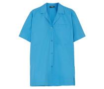 Coated Cotton-poplin Shirt