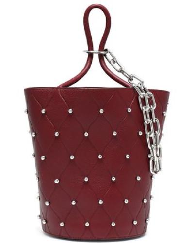 Alexander Wang Damen Studded quilted textured-leather shoulder bag Verkaufsfachmann  Wie Viel ndMlcsSy