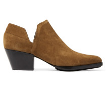 Dolores Cutout Suede Boot Braun