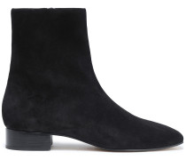 Woman Aslen Suede Ankle Boots Black