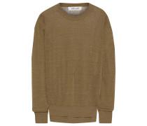 Kayla Slub Linen-blend Sweater