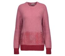 Metallic Alpaca-blend Sweater Altrosa