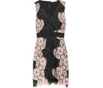 Patrice guipure lace mini dress