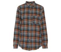 The Prep School fringed plaid cotton-flannel shirt