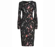 Kari Gerafftes Kleid aus Jersey mit Floralem Print